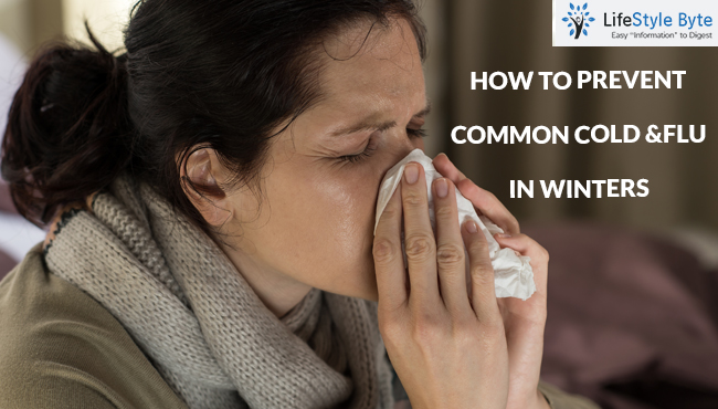 how to prevent common cold &flu in winters?