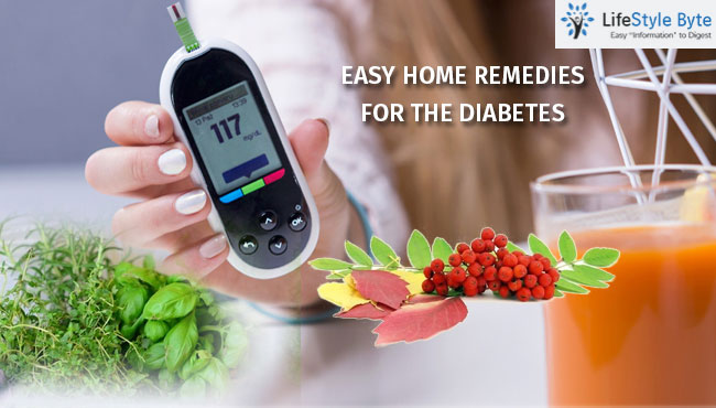 natural & easy remedies to cure diabetes at home