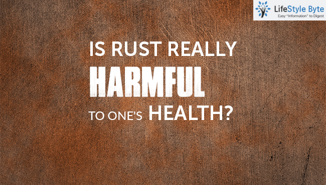 is rust really harmful to one's health?