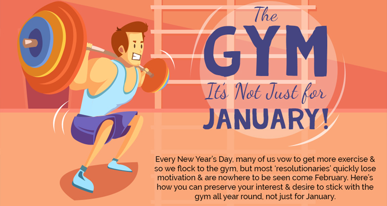 how you can keep going to the gym all year round
