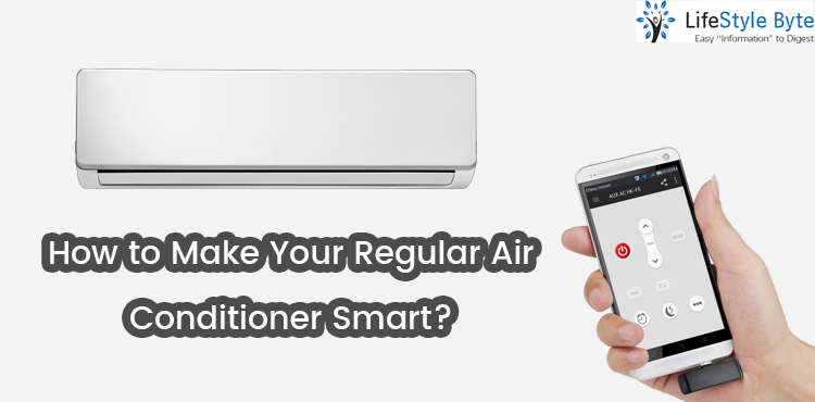 how to make your regular air conditioner smart?