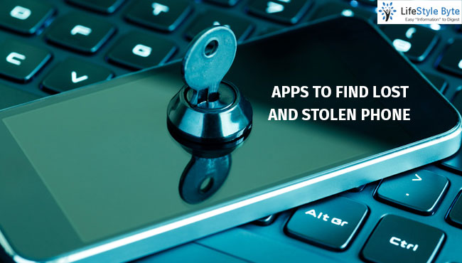 apps to find lost and stolen phone
