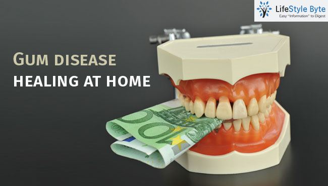 how to heal gum disease with home remedies