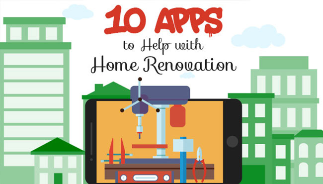 10 apps to help with home renovation