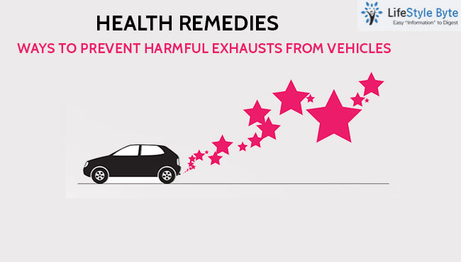 health remedies: ways to prevent harmful exhausts from vehicles