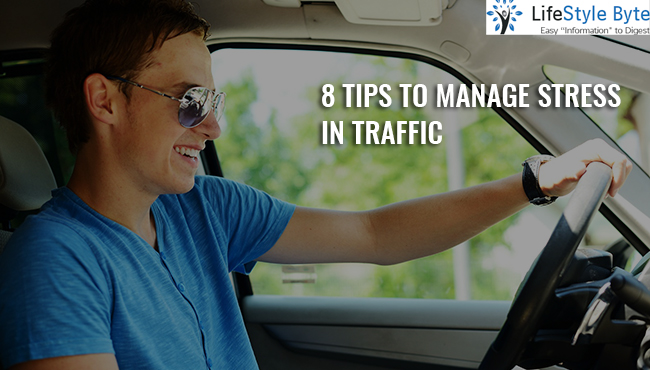 8 tips to manage stress in traffic