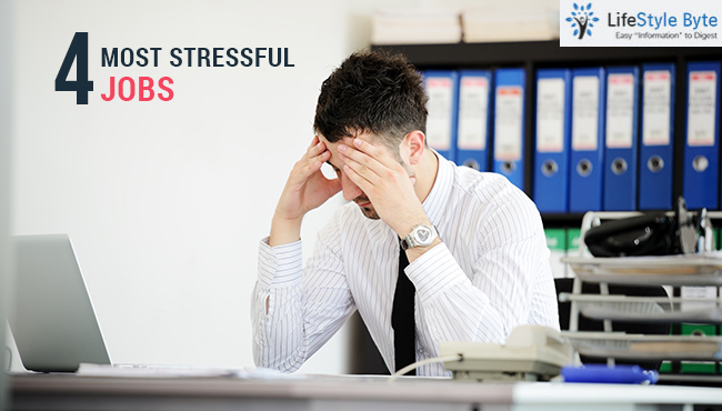 4 most stressful jobs