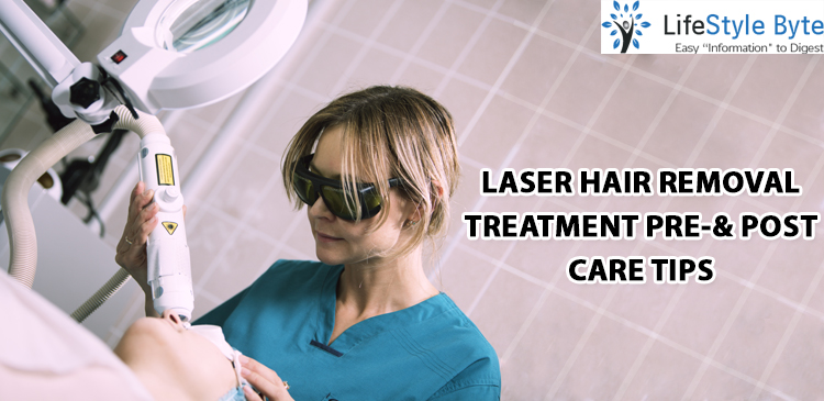 laser hair removal treatment pre-& post care tips