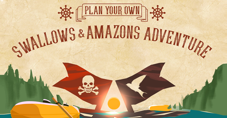 plan your own swallows & amazons adventure