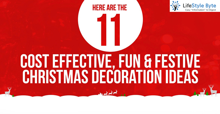 cost-effective, fun and festive christmas decoration ideas