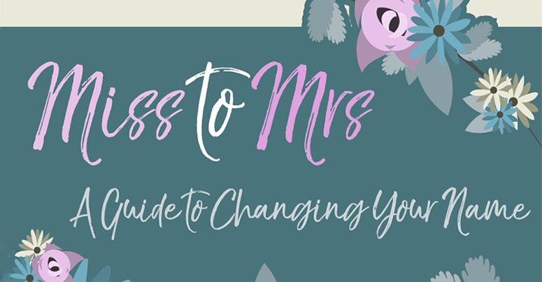 miss to mrs – a guide to changing your name