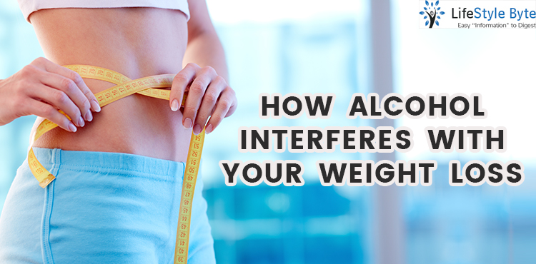 how alcohol interferes with your weight loss