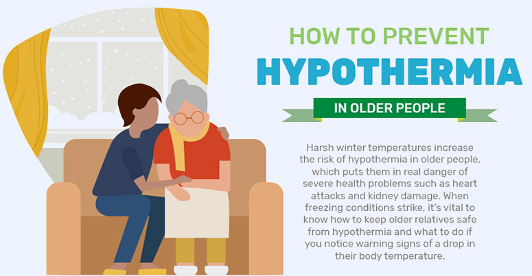 how to prevent hypothermia in older people