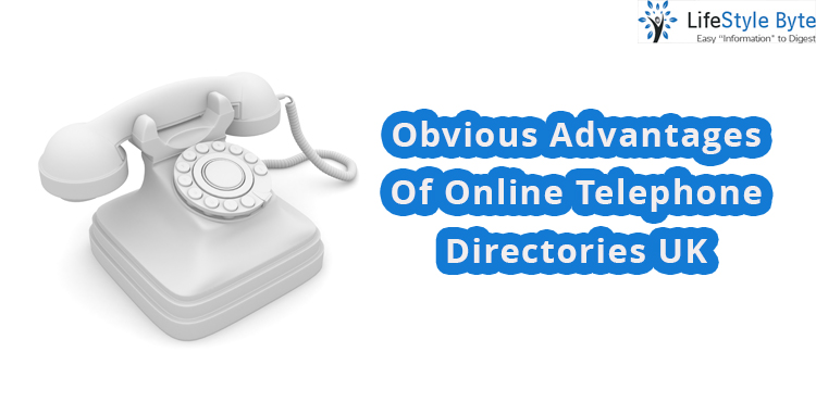 obvious advantages of online telephone directories uk