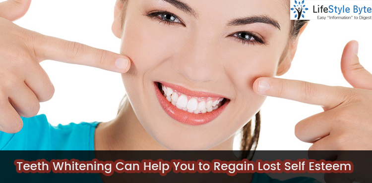 teeth whitening can help you to regain lost self esteem