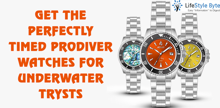 get the perfectly timed pro diver watches for underwater trysts