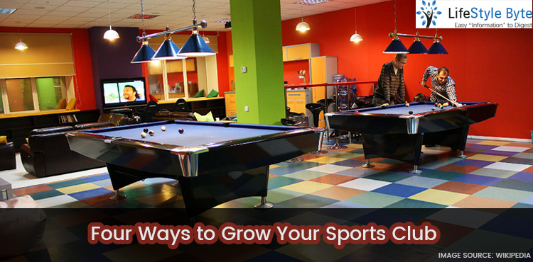 four ways to grow your sports club