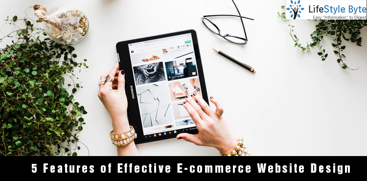 5 features of effective e-commerce website design