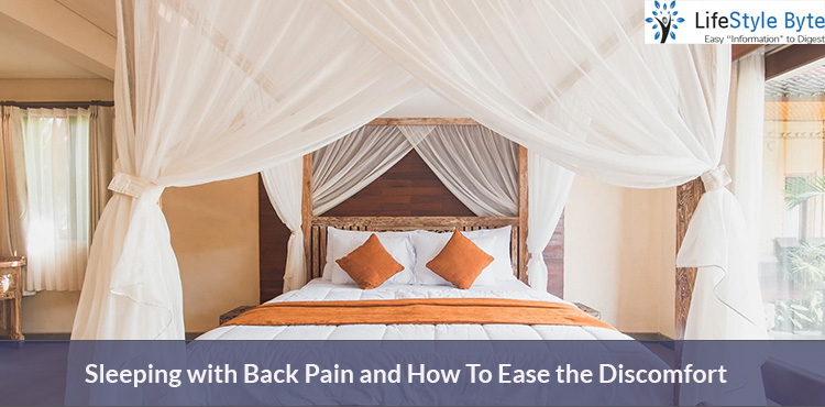 sleeping with back pain and how to ease the discomfort