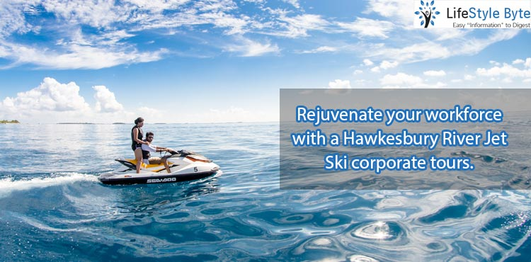 rejuvenate your workforce with a hawkesbury river jet ski corporate tours.